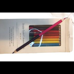 3@$20 NWt Indigo double ended coloured pencils